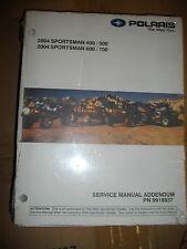 2004 POLARIS SERVICE MANUAL SPORTSMAN 400 / 500 SPORTSMAN 600 / 700 PN #9918937