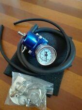 regolatore pressione benzina BLU fuel pressure regulator turbo aspirati + tubo