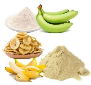 Dried banana fruit chips/coin/powder/green banana powder pure natural organic
