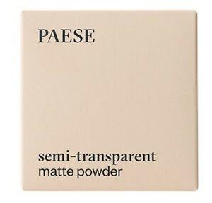 PAESE Matte Face Pressed Powder Make Up Setting Fixer Light Coverage Vegan 9g