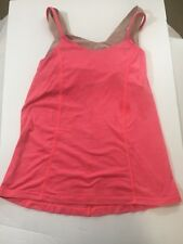 Lululemon Tank, Pink, built-in bra, size 4-6, imperfect