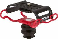 Movo SMM5-R Universal Portable Recorder Shockmount for Zoom H2n/H4n/H5/H6/Tascam