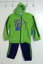 TUFF GUYS Toddler Boy's Zip-Front Hoodie & Sweatpants Set - CAN'T STOP ME! - 2T