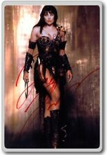 Lucy Lawless, Xena Autographed Preprint Signed Photo Fridge Magnet
