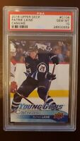 PATRICK LAINE 2016 Upper Deck Young Guns Canvas ROOKIE RC #C106 PSA 10 GEM MT