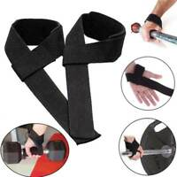 1 pair Strips Wrist Support Weightlifting Gym Training Wrist Guard Protector