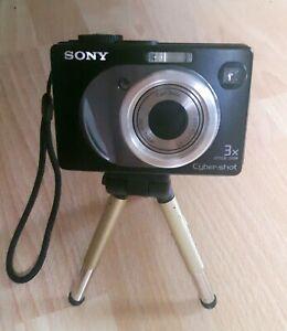 Sony Cybershot DSC w12 Compact 5.1mp Digitalkamera m. Memory Stick/512MB/Stativ