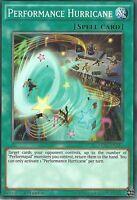 YU-GI-OH CARD: PERFORMANCE HURRICANE - MP16-EN214 - 1st EDITION