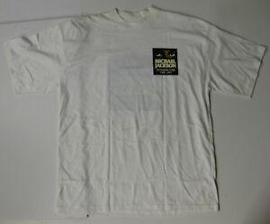 MICHAEL JACKSON Dangerous Tour 1993 CHILE Promo CONCERT T-SHIRT (White)