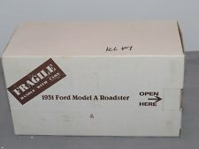 Vintage Danbury Mint 1:24 1931 Ford Model A Deluxe Roadster, 1:24 scale