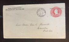 1923 Naval Cover - Rear Admiral George Marvell, Captain - USS Arizona 1921-1922