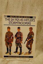 Osprey Military Men-At-Arms Series #220 Hitler's SA Stormtroopers War II Book