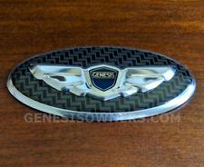 3D Winged Steering Wheel Emblem for All Genesis Steering Wheels