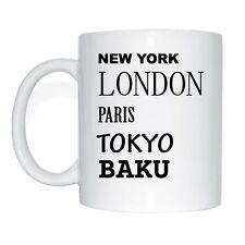 New York, London, Paris, Tokyo, CARINDALE Cup Of Coffee