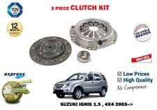 FOR SUZUKI IGNIS 1.5 + 4X4 2003-2009 NEW 3 CLUTCH PLATE COVER BEARING KIT