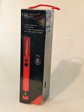 """True Silk by Croc Professional Dial Flat Iron 1"""" Red 1-7 Plate SEALED IN BOX"""