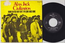 ALAN JACK CIVILISATION * 1968 French Freakbeat Psych Blues Boom 45 HEAR!