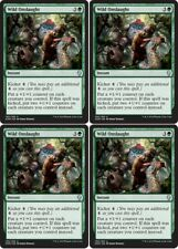 4x WILD ONSLAUGHT Dominaria MTG Green Instant Unc