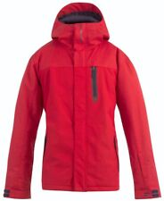 BILLABONG Men's LEGEND PLAIN Snow Jacket - RED - Large - NWT