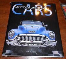 Legendary American Cars : Past to Present by Matt DeLorenzo and Matt De Lorenzo