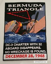 Aviation Patch Series: Bermuda Triangle LARGE GMAN Patch w/free POSTAGE