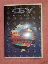 Building Construction: Concrete & Masonry, Dvd,2003, Cev Multimedia, Instruction