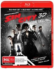 3D Sin City 2 - A Dame To Kill For (Blu-ray, 2015)