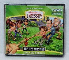 NEW The Ties That Bind #58 Adventures in Odyssey 4 Audio CD Vol Set Volume