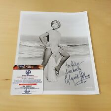 Sexy Blonde Glynis Johns Movie Stage TV Actress Autographed Photograph COA