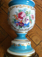 $1400 Exquisite Antique Italian A.C.F. Hand Painted Lamp from Florence Italy