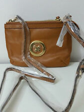 556045029a12 Mimco Leather MIM Supernatural Couch Hip Across body Hand Bag Brand New  Honey