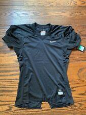 Nwt Boys Xl Black Nike Mesh Football Practice Jersey V-neck