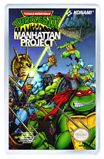 TEENAGE MUTANT NINJA TURTLES 3 NES FRIDGE MAGNET IMAN NEVERA