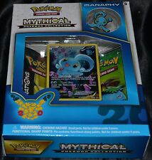 Manaphy Mythical Pokemon Collection Box Trading Cards Game 2 Booster Packs NEW