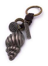 Muschel Silber mit goldenem Schlüsselring Schlüsselanhänger Anhänger aus Metall