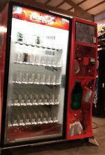 Dixie Narco Dn5000 elevator glass front beverage / soda vending machine