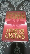 A Feast for Crows George R.R. Martin HC DJ 1st Edition Printing Hardcover Book