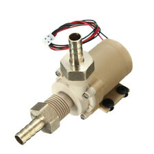 12V DC Solar Hot Water Circulation System Pump Brushless Motor Couplers Clamps