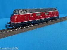 Marklin 3021 DB Diesel Locomotive BrV 200 Red vers. 2 of 1959