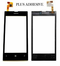 Nokia Lumia 520 Digitizer Touch Screen Front Glass Repair Plus Adhesive Black