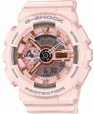 Casio G-Shock GMAS110MP-4A1 Ana-Digital Multifunctional Pink/Gold Resin Watch