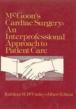 McGoon's Cardiac Surgery-An Interprofessional Approach-BUY ANY 4 FOR FREE SHIP