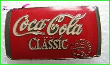Pin's pins Badge Coca Cola Classic Canette rouge #H3