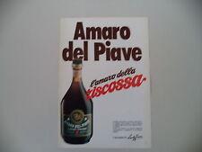advertising Pubblicità 1977 AMARO DEL PIAVE