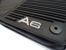 Original Audi A6 4F Gummifußmatten Gummimatten Set v+h Monster Mat 4F1061225 041