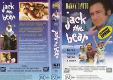 JACK THE BEAR - Danny DeVito - VHS - PAL -NEW Never Viewed - Original Oz release