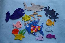 """The Rainbow Fish"" Children story felt/ flannel board set"