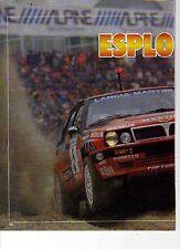 W8 Ritaglio Clipping 1989 Motor Show Bologna trionfo Biasion Memorial Bettega