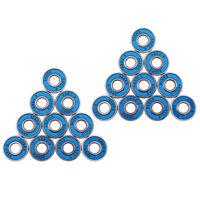20 Pcs ABEC-9 Skateboard Longboard Skate Roller Hocker Wheel Steel Bearings
