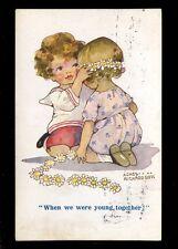 Children AGNES RICHARDSON Comic romance artist drawn PPC 1918